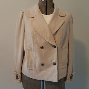 Beige Worthington XL Jacket